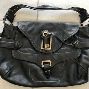Juicy Couture leather hand bag with large key
